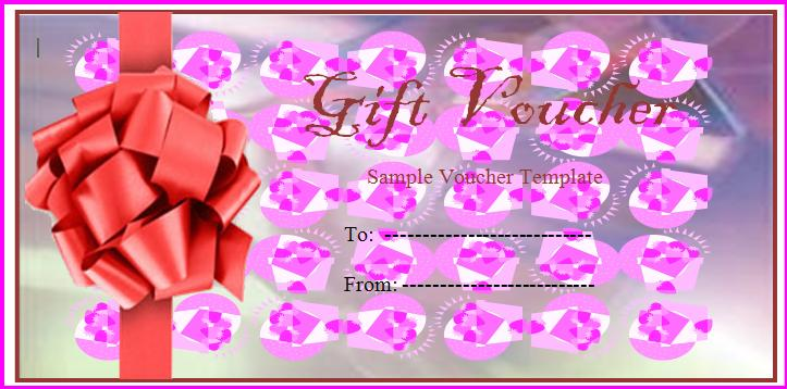 gift certificate in word