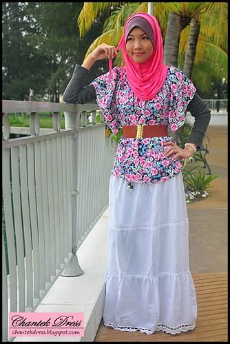 Fashion Baju Kurung Remaja Terkini