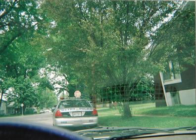 LMPD Harassment - Police car #5931 is the police car John Terrence Keeling use to drive