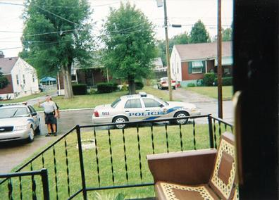 LMPD Harassment - Harassing Ms. Marshall is so much fun, lets vogue and wave.""